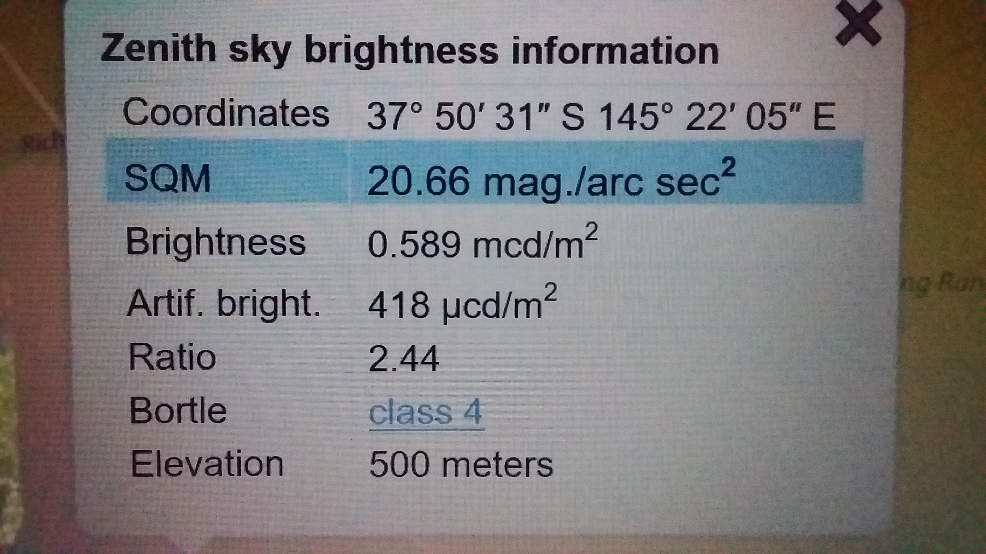 Tell us your sky quality - Page 6 - Observing - Discussion