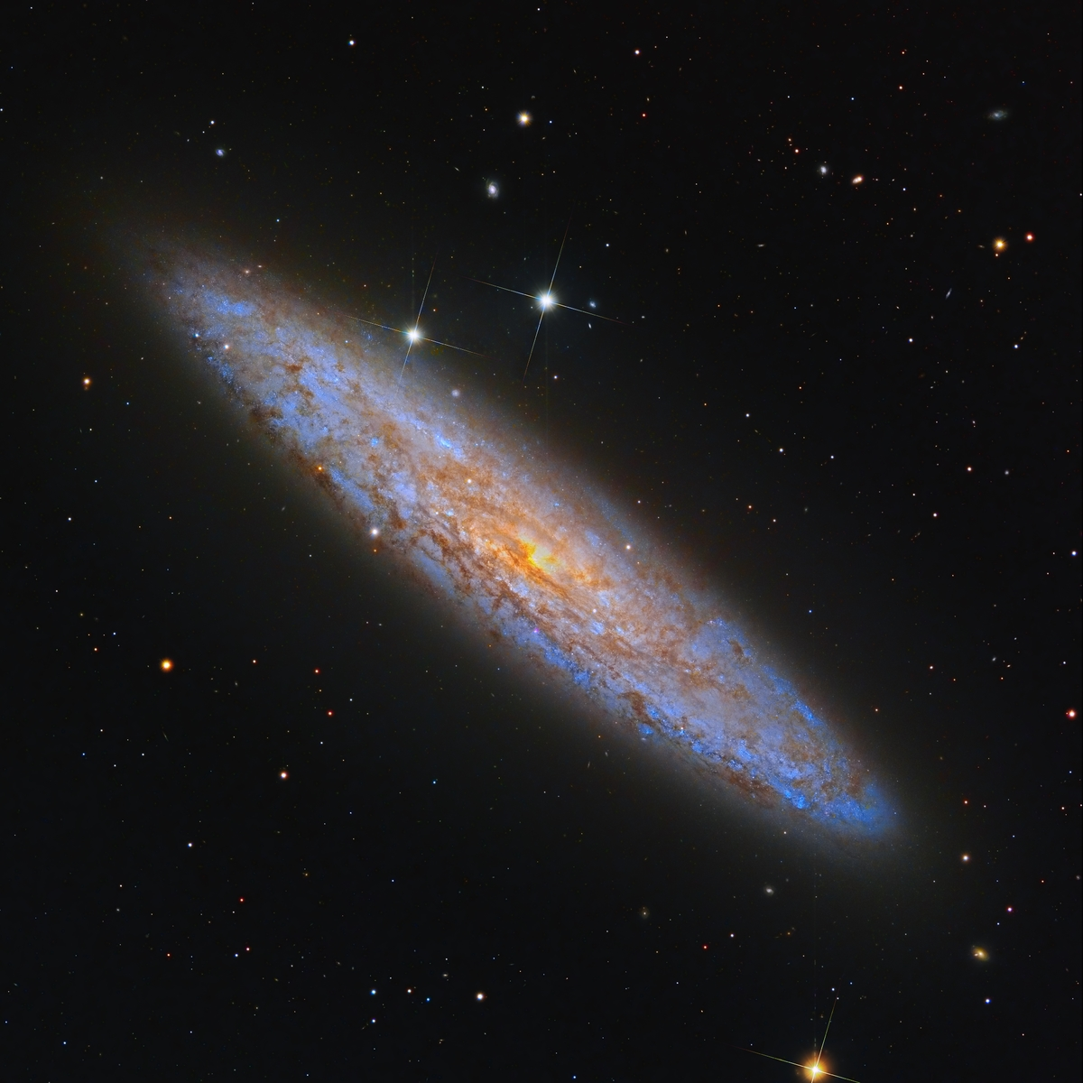 NGC 253 in its splendor !