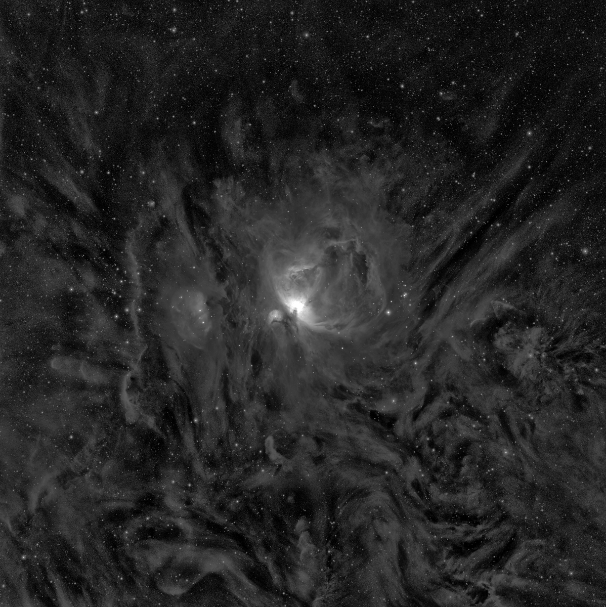 Orion M42 Ha/SII