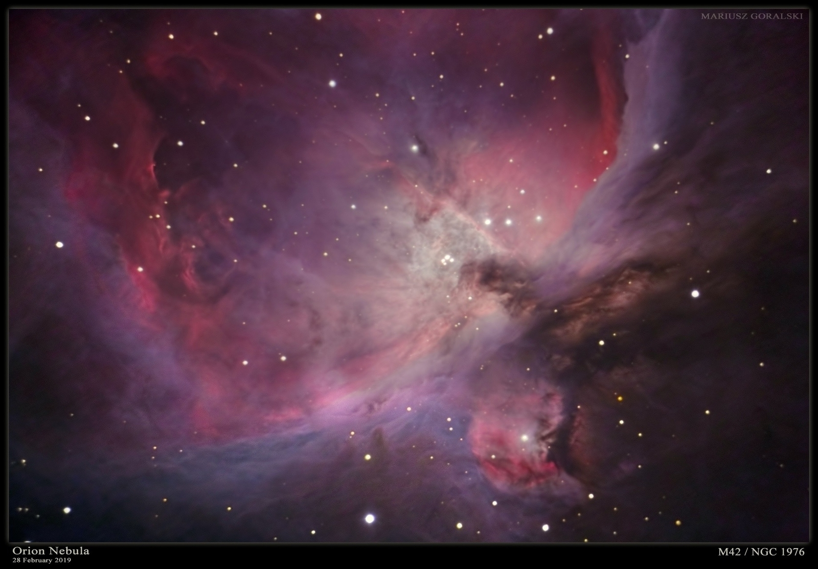 Orion Nebula F10 - 28 February 2019