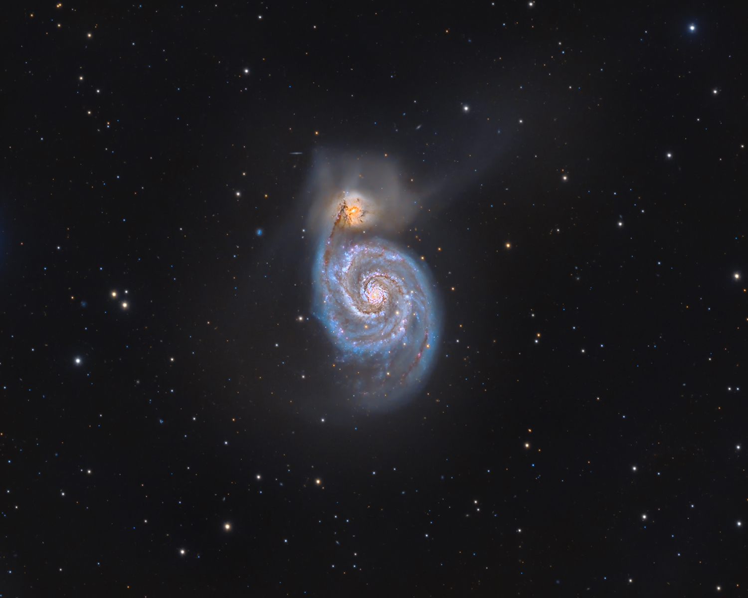 M51 and fuzzies