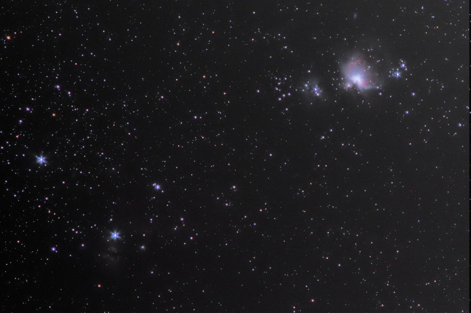 Orion sword with MC-Rokkor 135/3.5 (try)