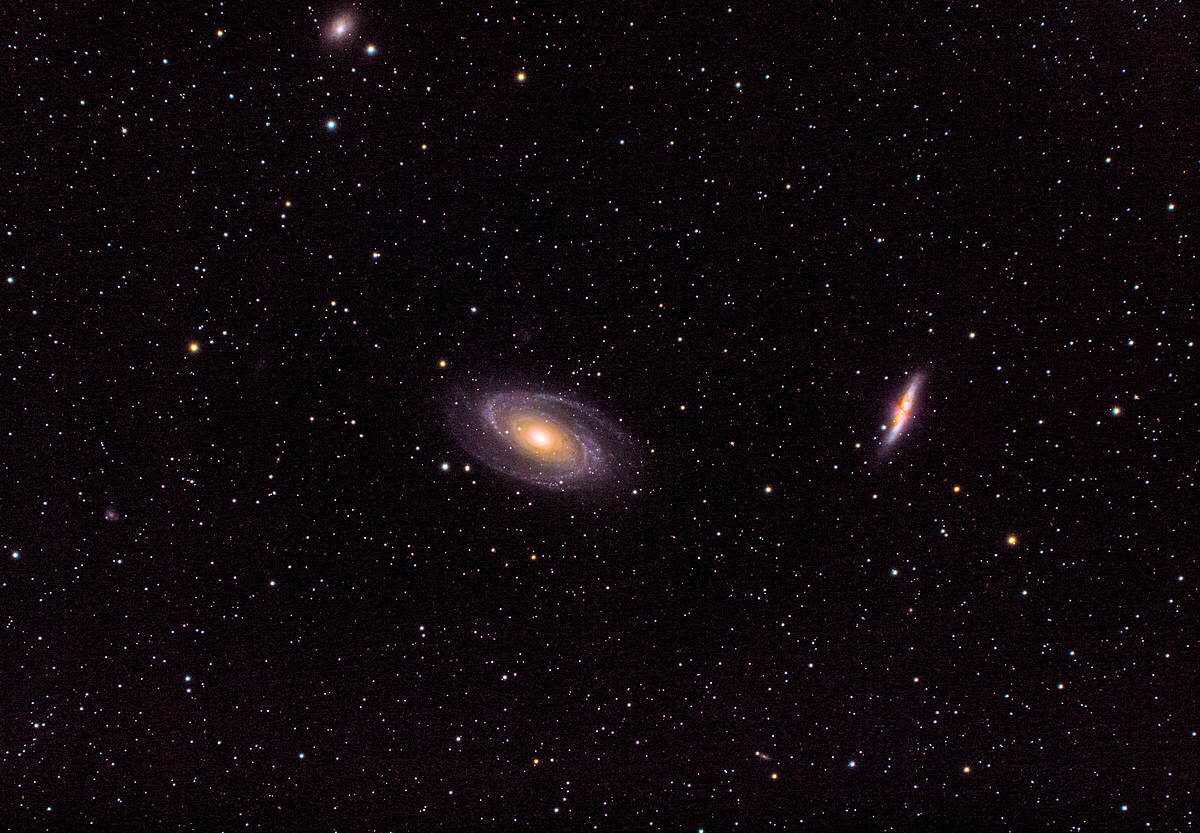 M81 & M82 (Bodes Galaxy and the Cigar Galaxy)