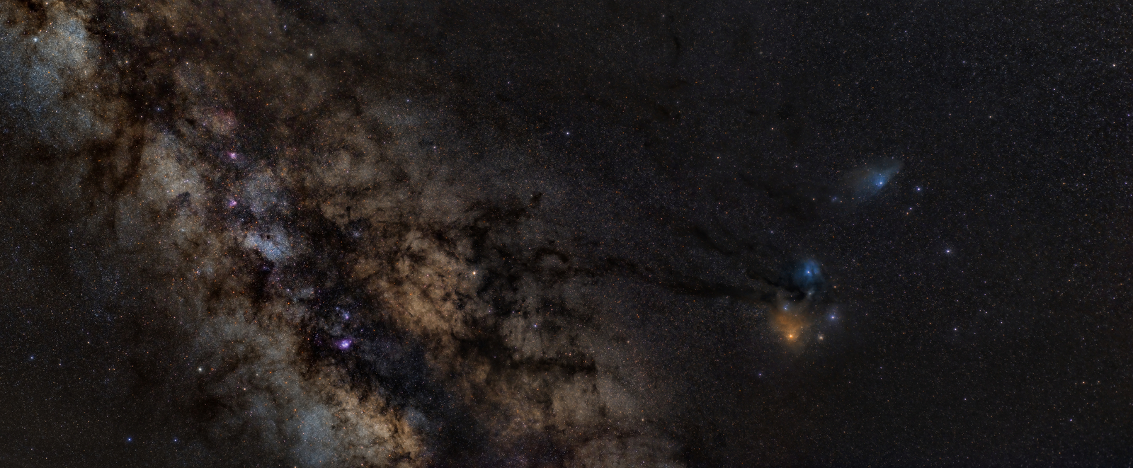 Milky Way to Antares