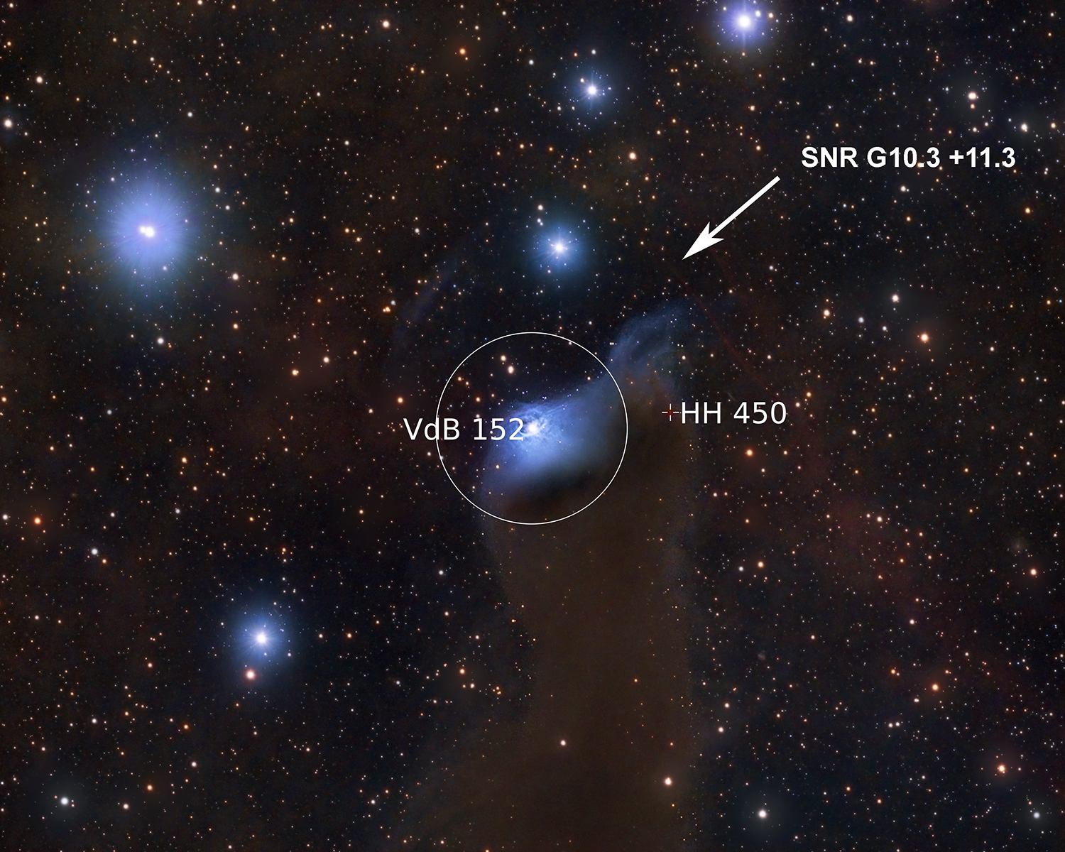 VdB 152 (annotated)