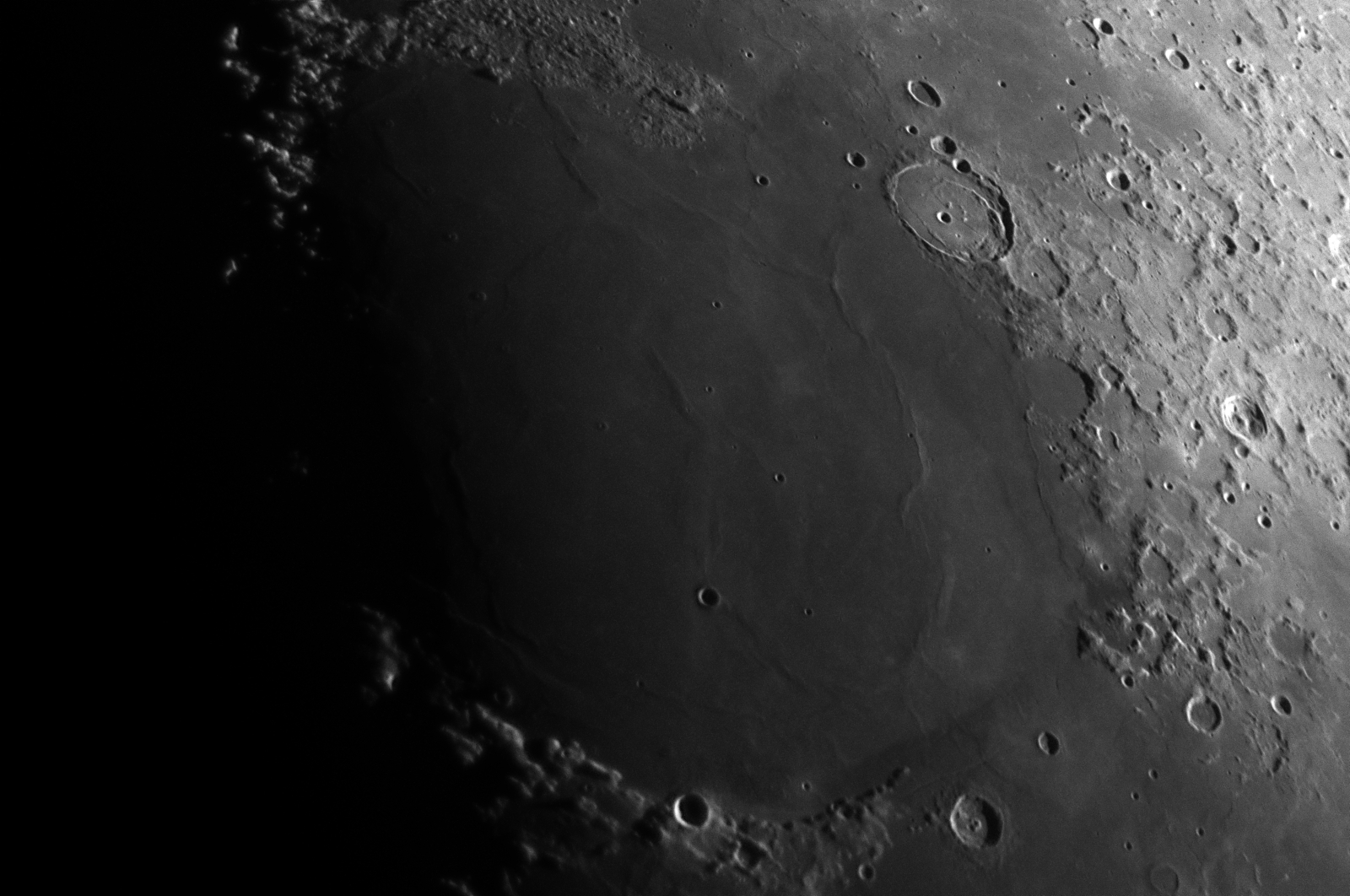 The Moon 18th April 2021